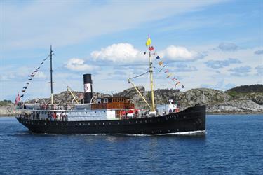 Fjordsteam: Rosendal-Malkenes-Våge-Bergen