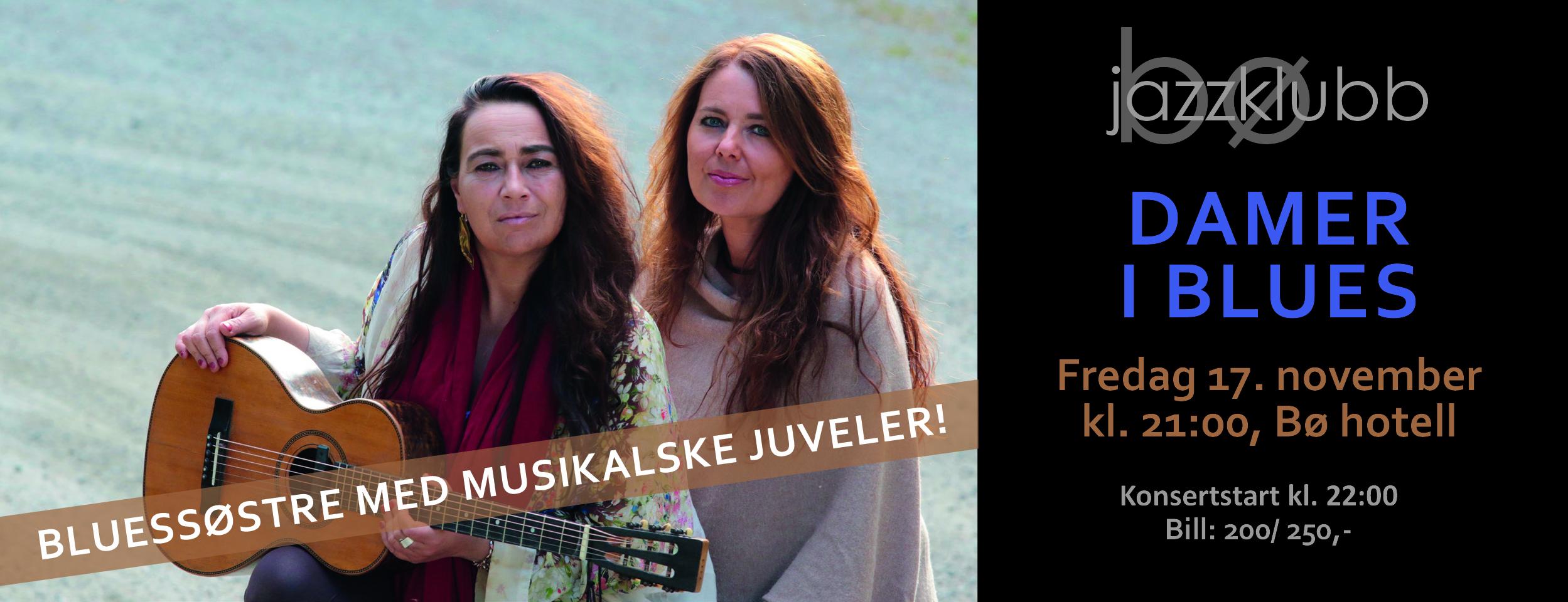 """Rita Engedalen og Margit Bakken er """"Damer i Blues""""!, © Rita Engedalen og Margit Bakken"""