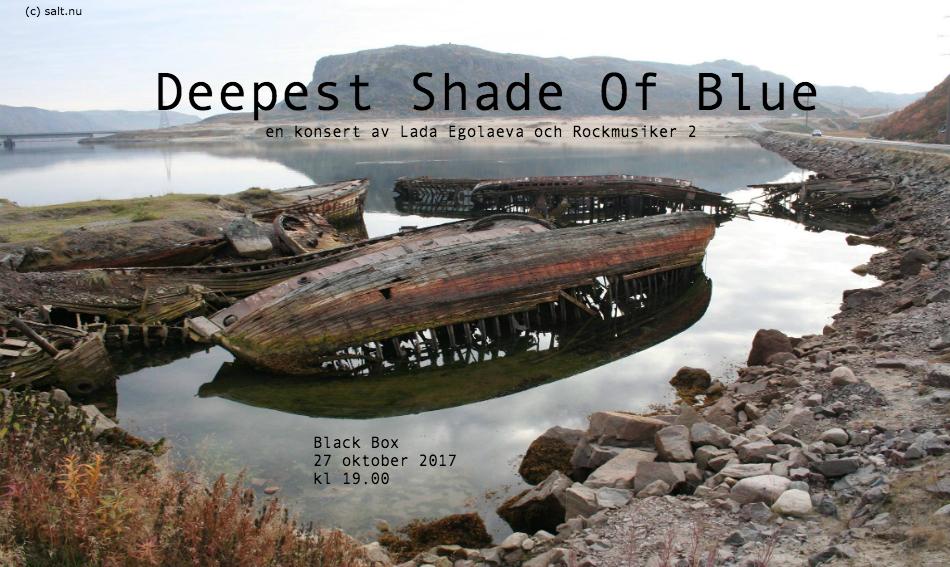 Deepest Shade Of Blue-affisch
