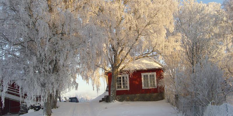 Strømnes in Inderøy along the Golden Route -