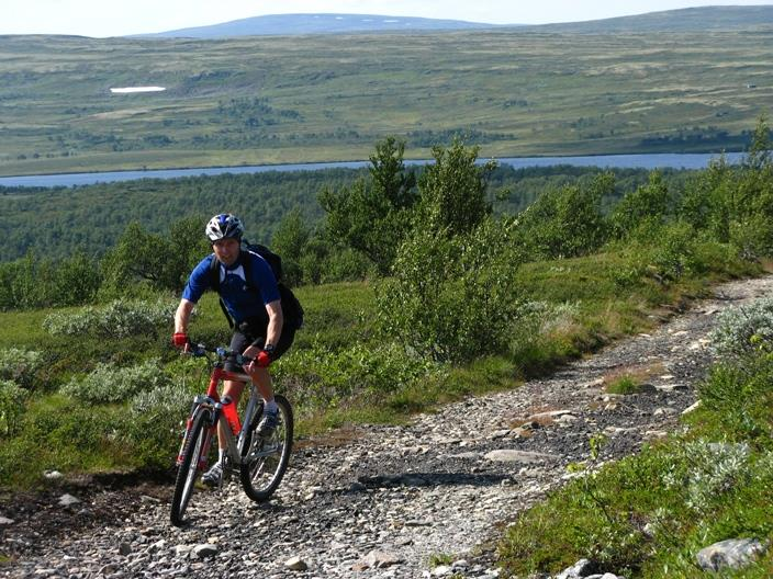 Cycling in the World Heritage site of Røros