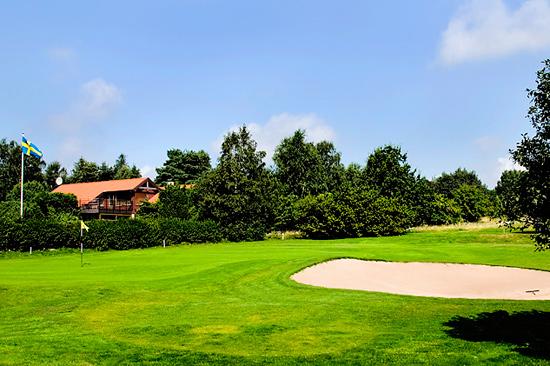 Ringenäs Golfklubb, strax norr om Halmstad, med 27 vackra golfhål av olika karaktär.