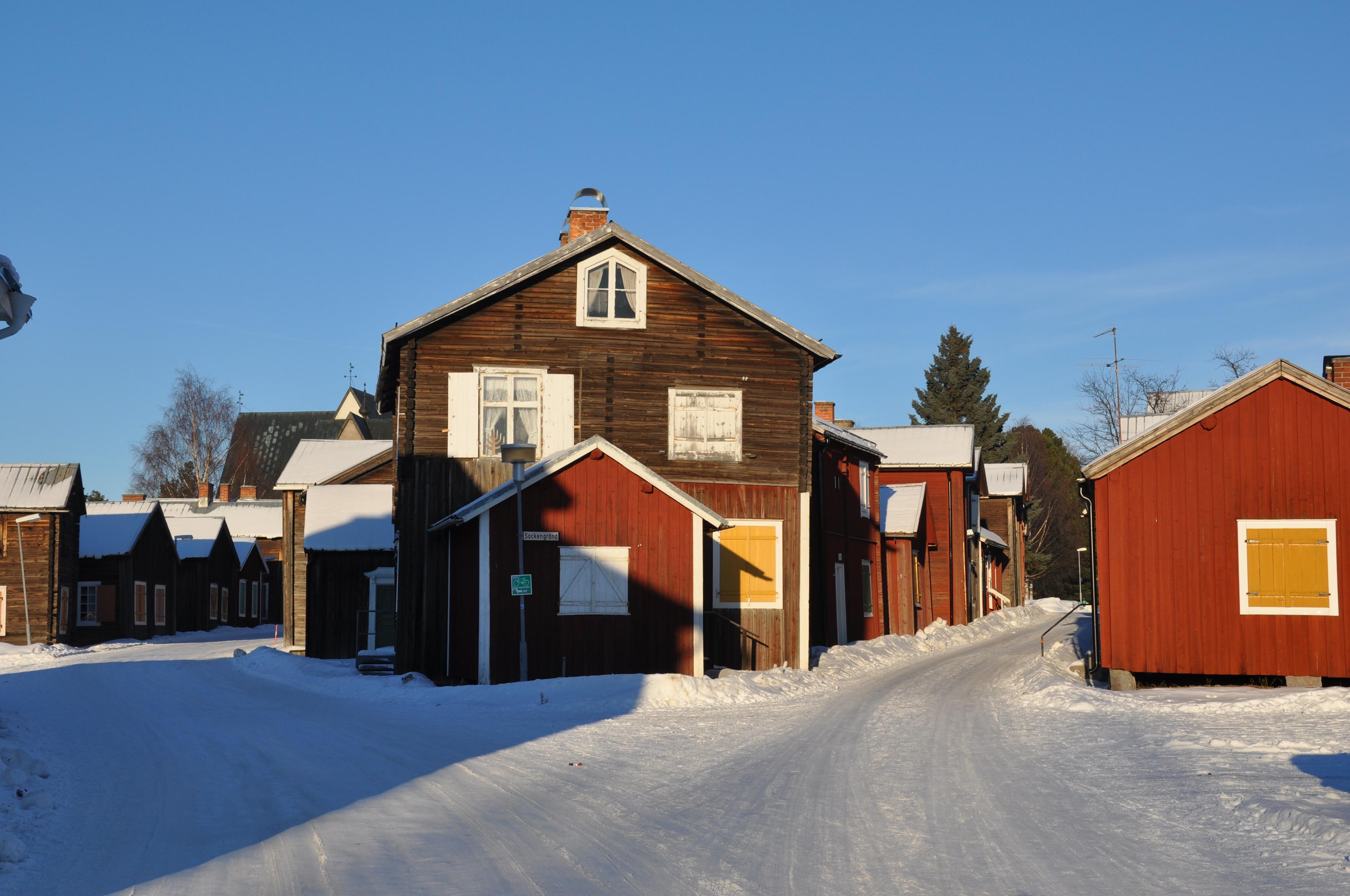 Kreuzung Öjeby Kyrkstad