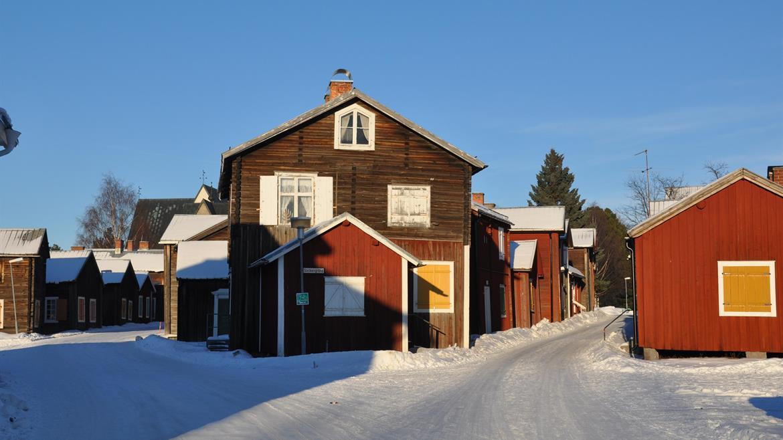 Öjeby Kyrkstad vinter