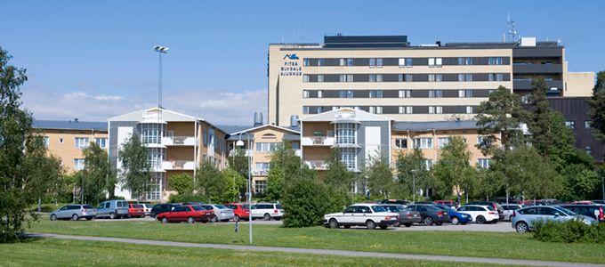 Bild på Piteå Älvdalssjukhus., NLL