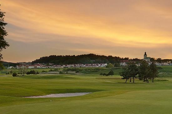 Golfbana i närheten av Hotell Halland