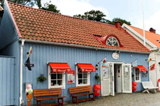 Glasscafé Kulingen ligger i Varbergs hamnområde
