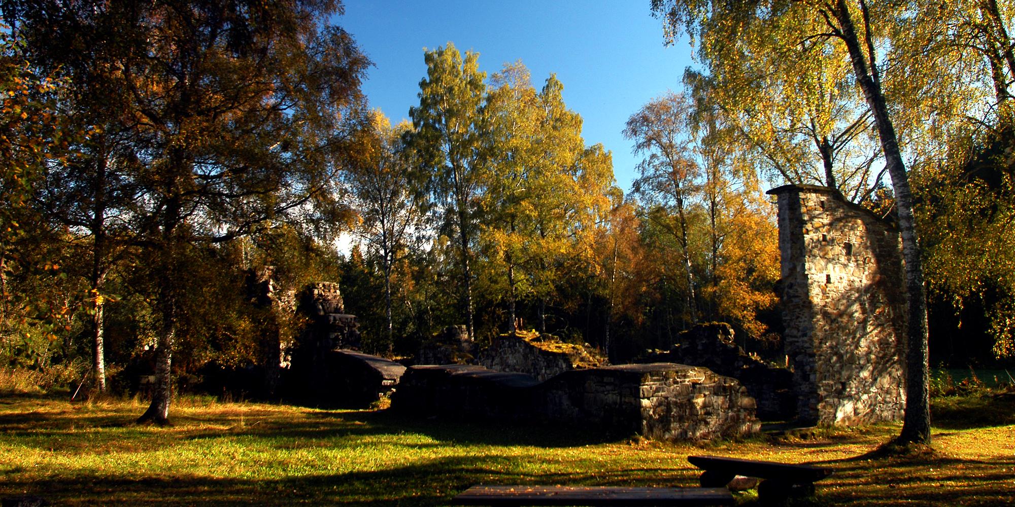 Munkeby monastery ruins. Copyright: Visit Innherred