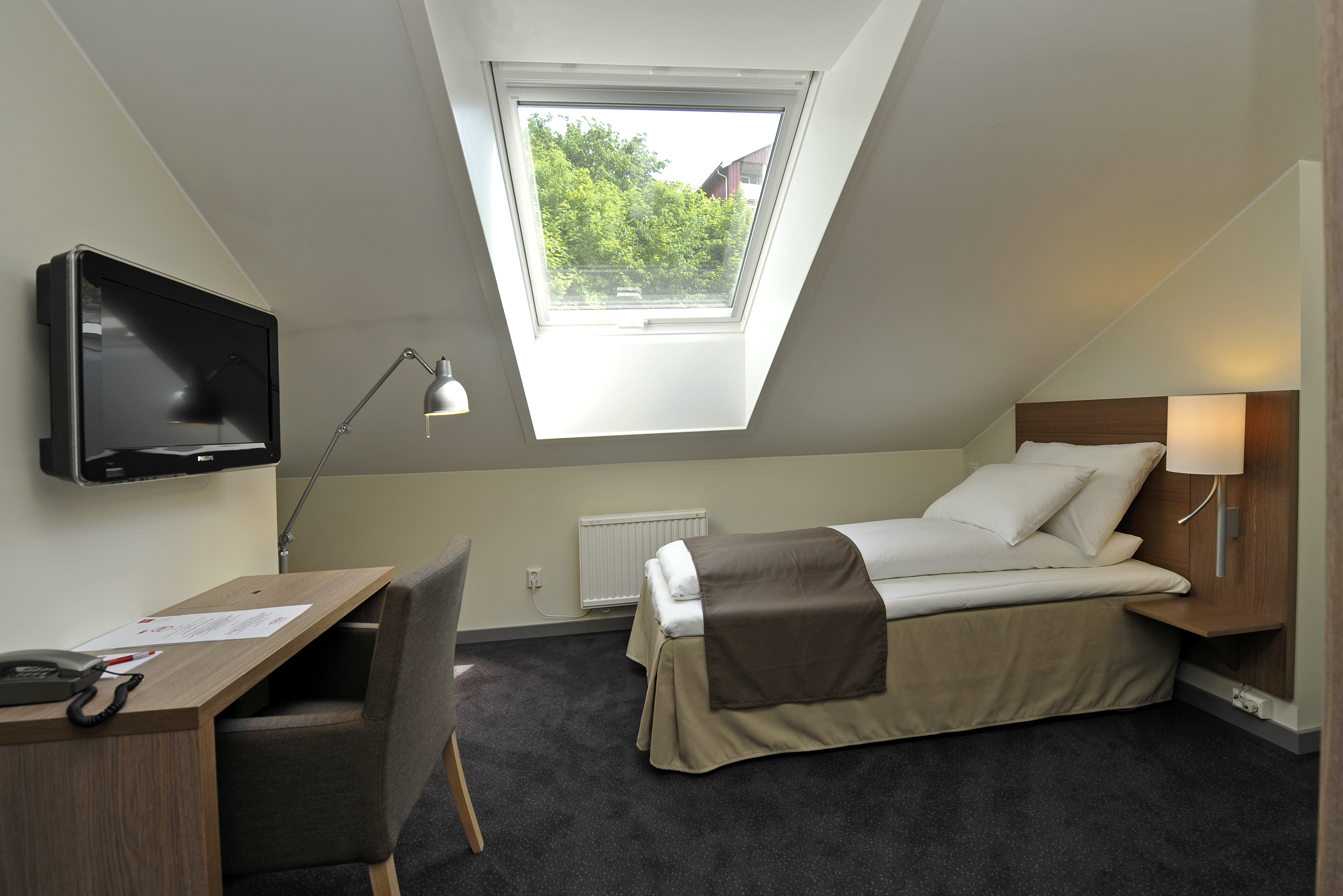 Single room at the attic , © Thon Høyers Hotel