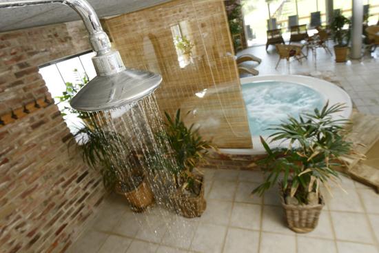På Lanthotell Lögnäs Gård erbjuds bubbelpool, bastu, kallbad och massage/steamdusch