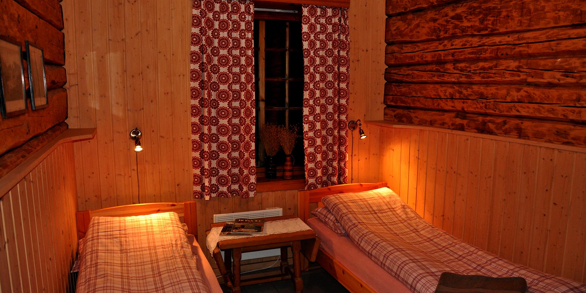 Mokk - bedroom main house. Copyright: Mokk gård