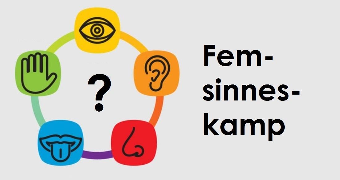 Symboler för de fem sinnena