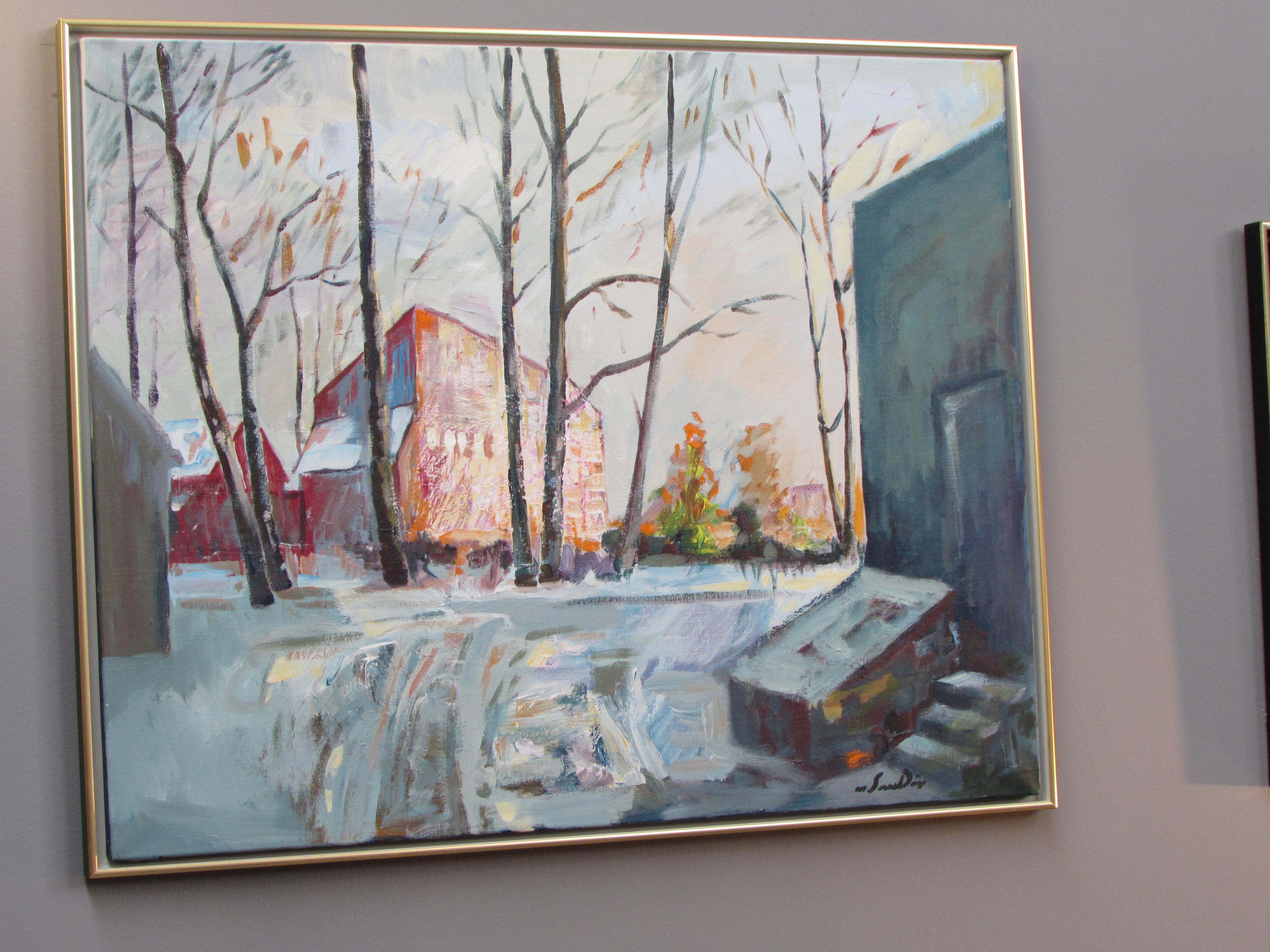 Maleri av Magne Sandøy. Copyright: Laila Støen