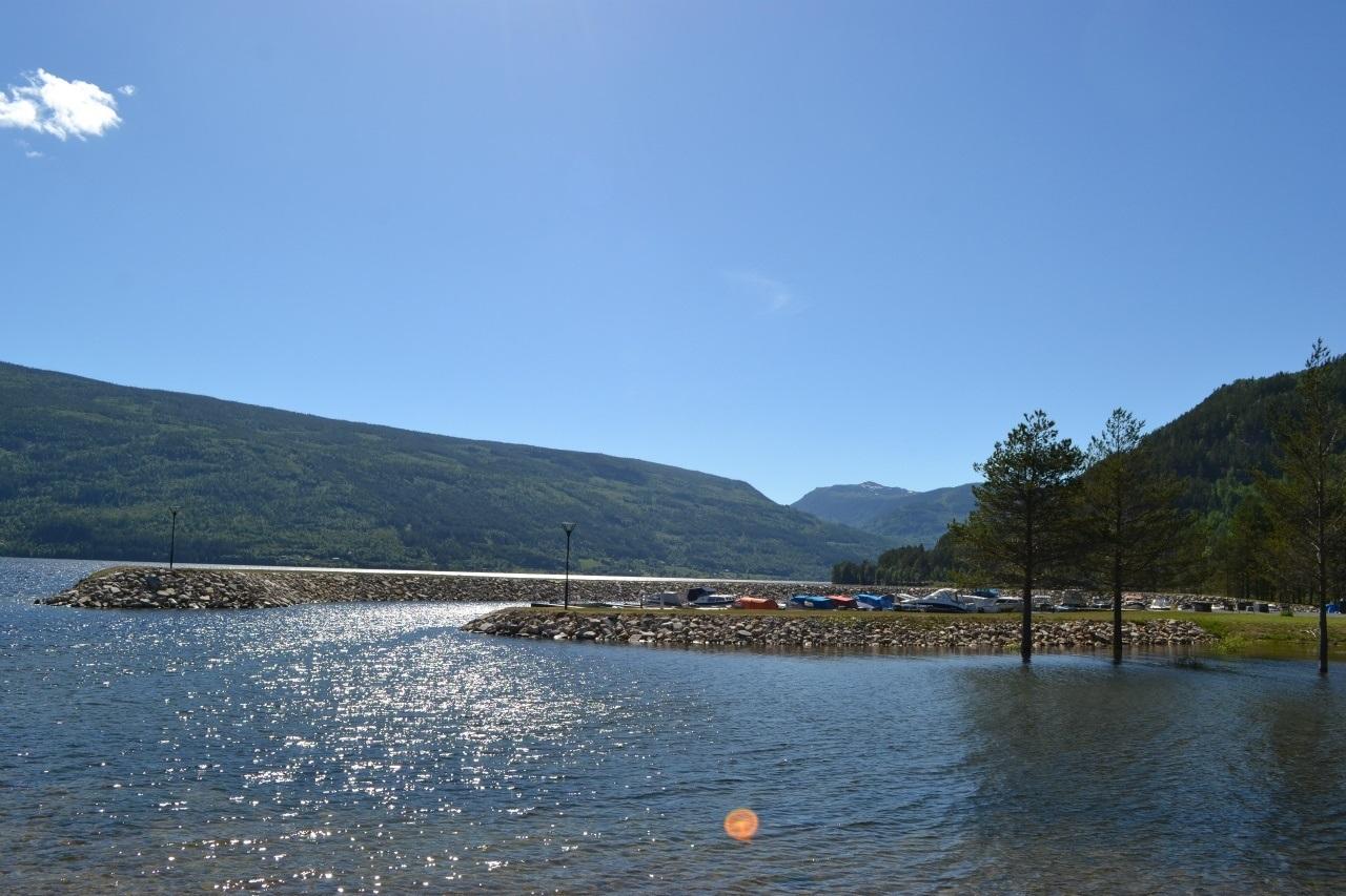 Utegudstjeneste på Sjøtveit Camping