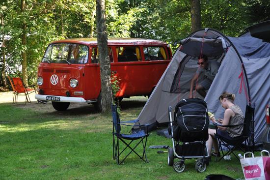 Haverdals camping är en trivsam camping med stora campingtomter