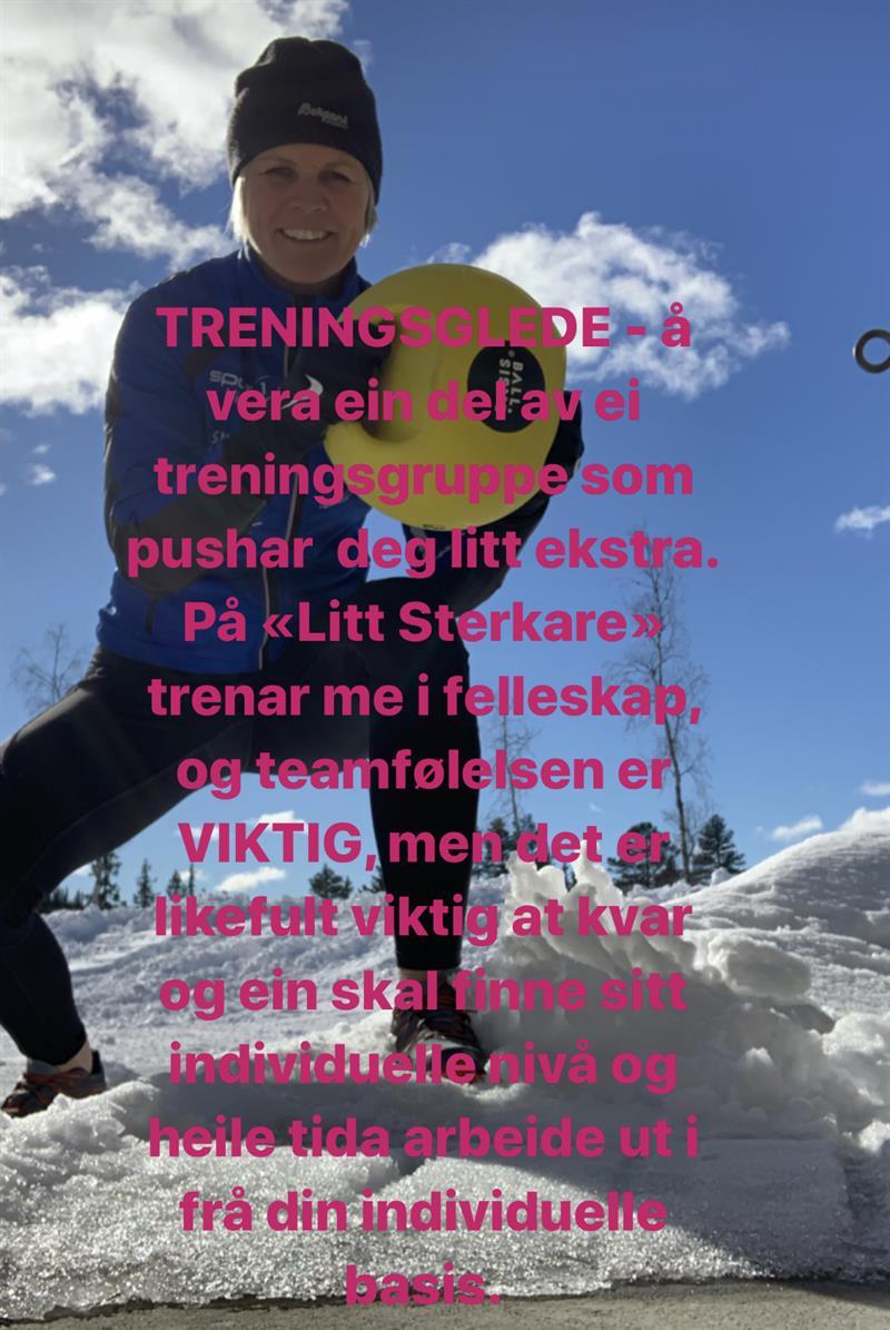 Litt Sterkare - Vest-Telemark.no
