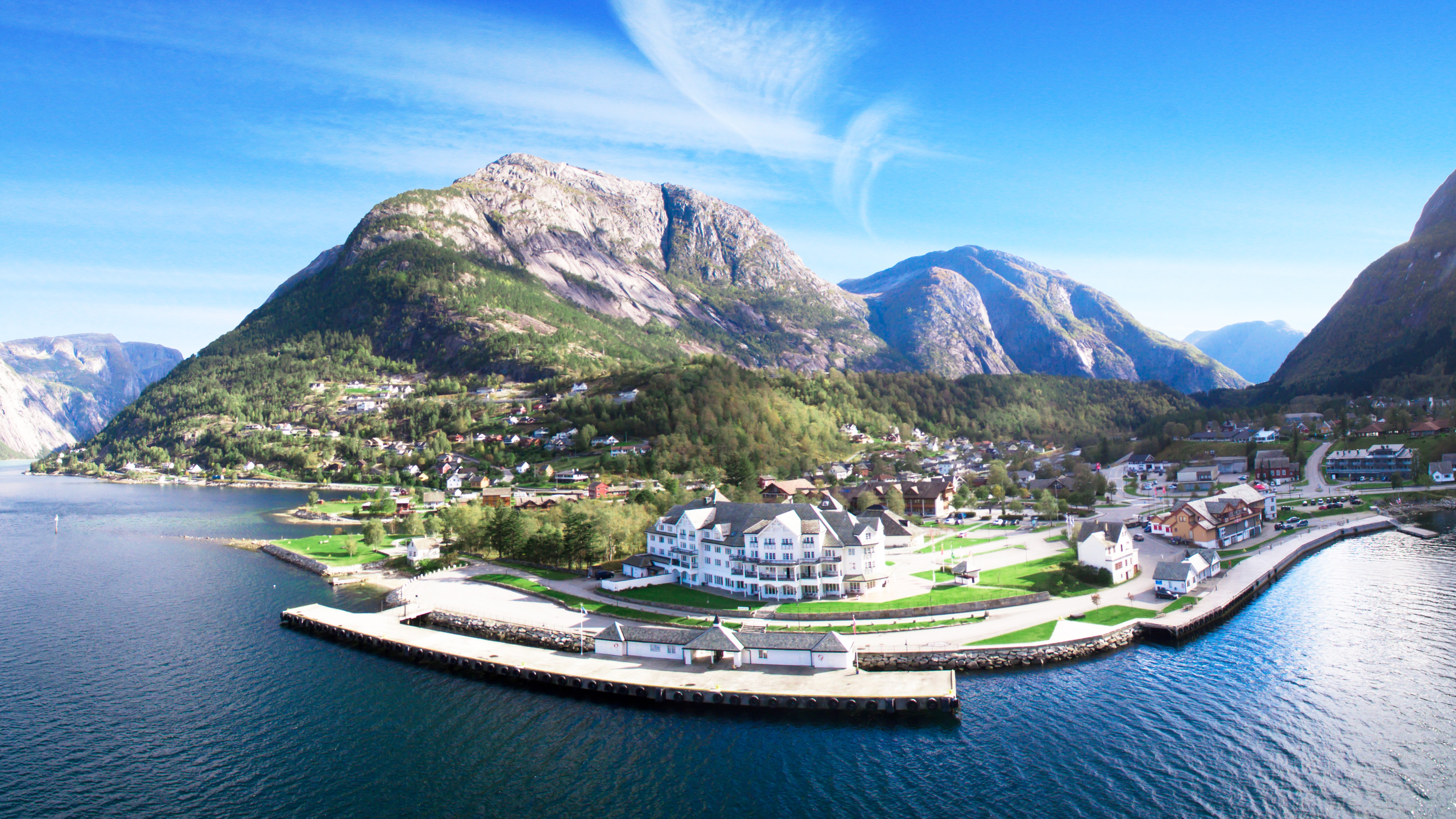 Overnatting i Eidfjord