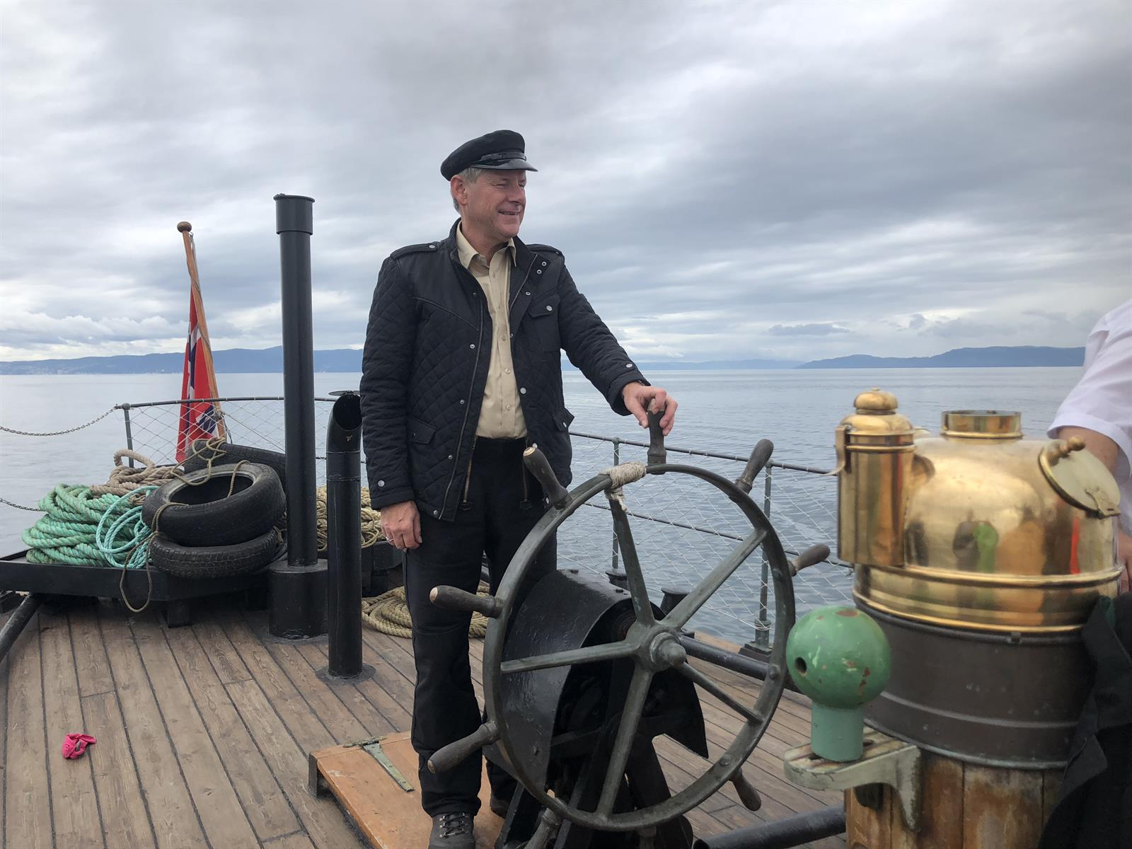 Day 3 of An adventurous voyage on the Trondheimsfjorden