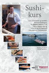Sushi-kurs hos Engesund Fiskeoppdrett