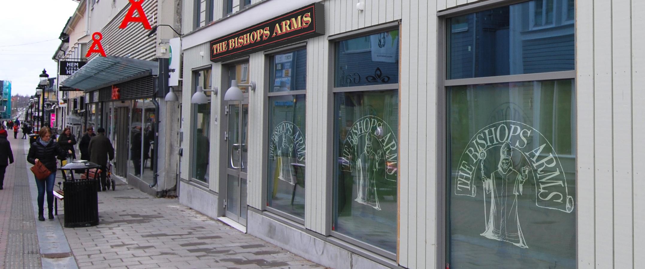 Exteriör Bishops Arms
