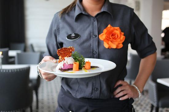 På Restaurang Varbergs Stadshotell hämtas inspiration från olika kök i världen