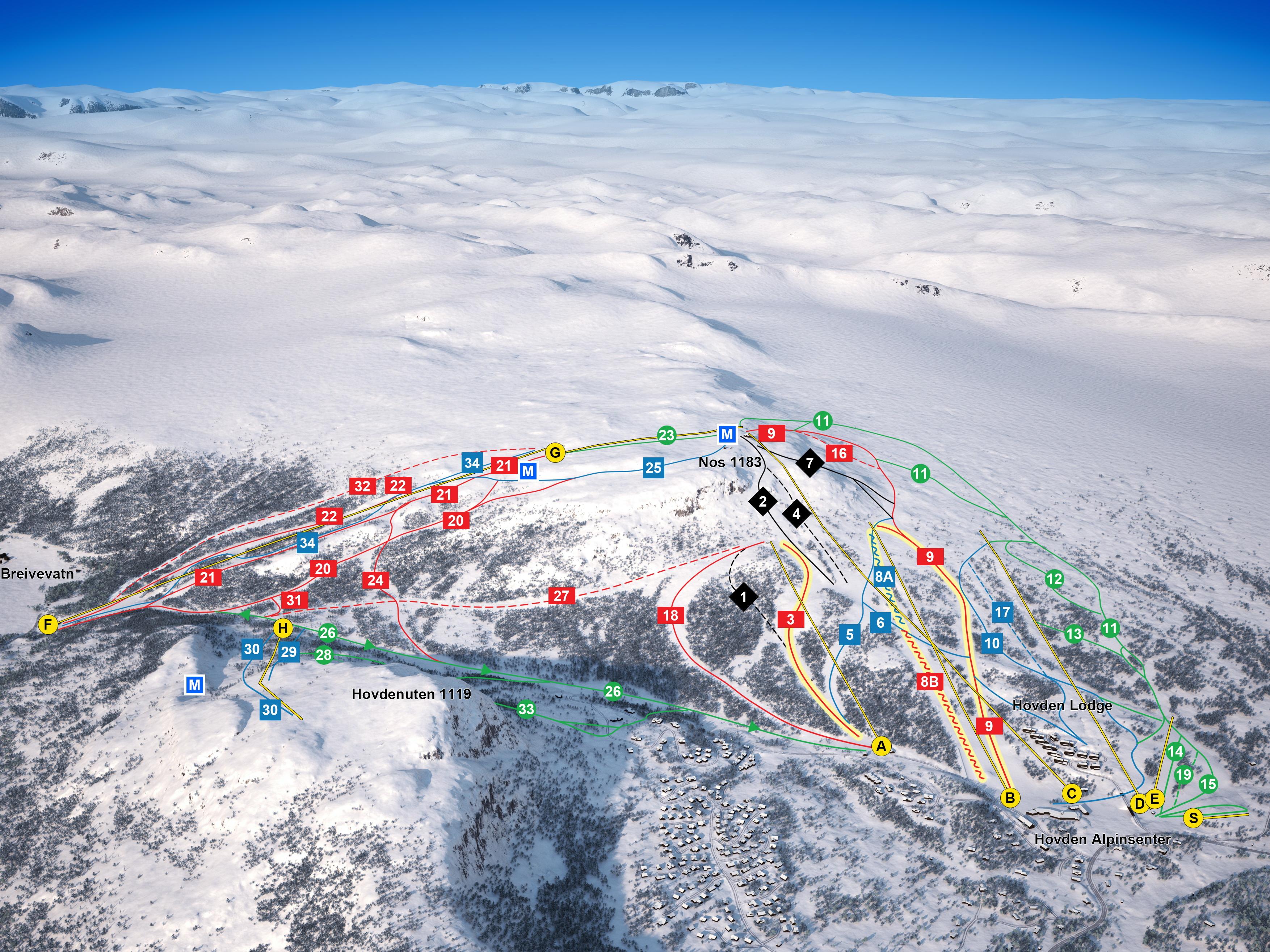 Hovden Alpinsenter