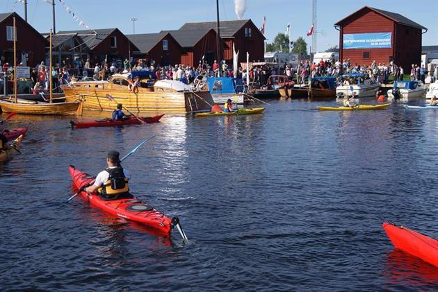 Skärgårdsfesten kanot