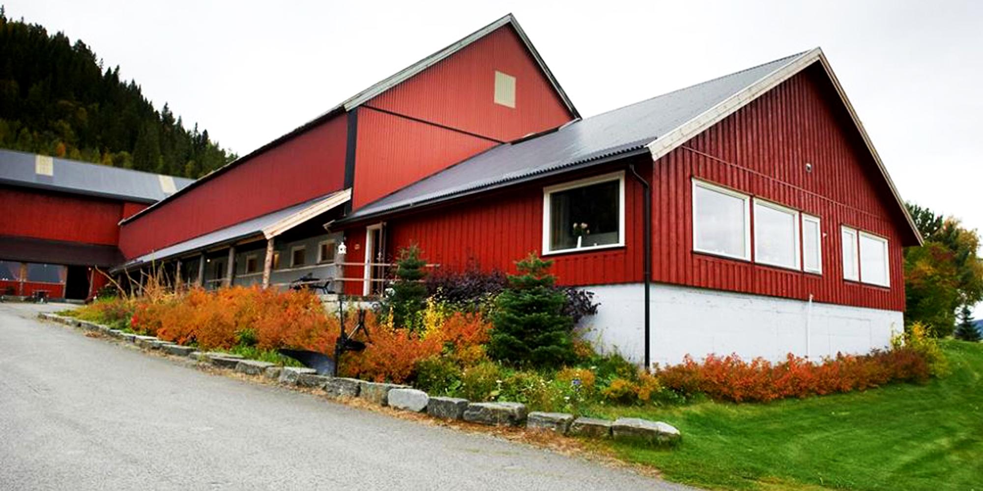 Stene Spa og Kulturgård - gården. Copyright: Stene Spa og Kulturgård