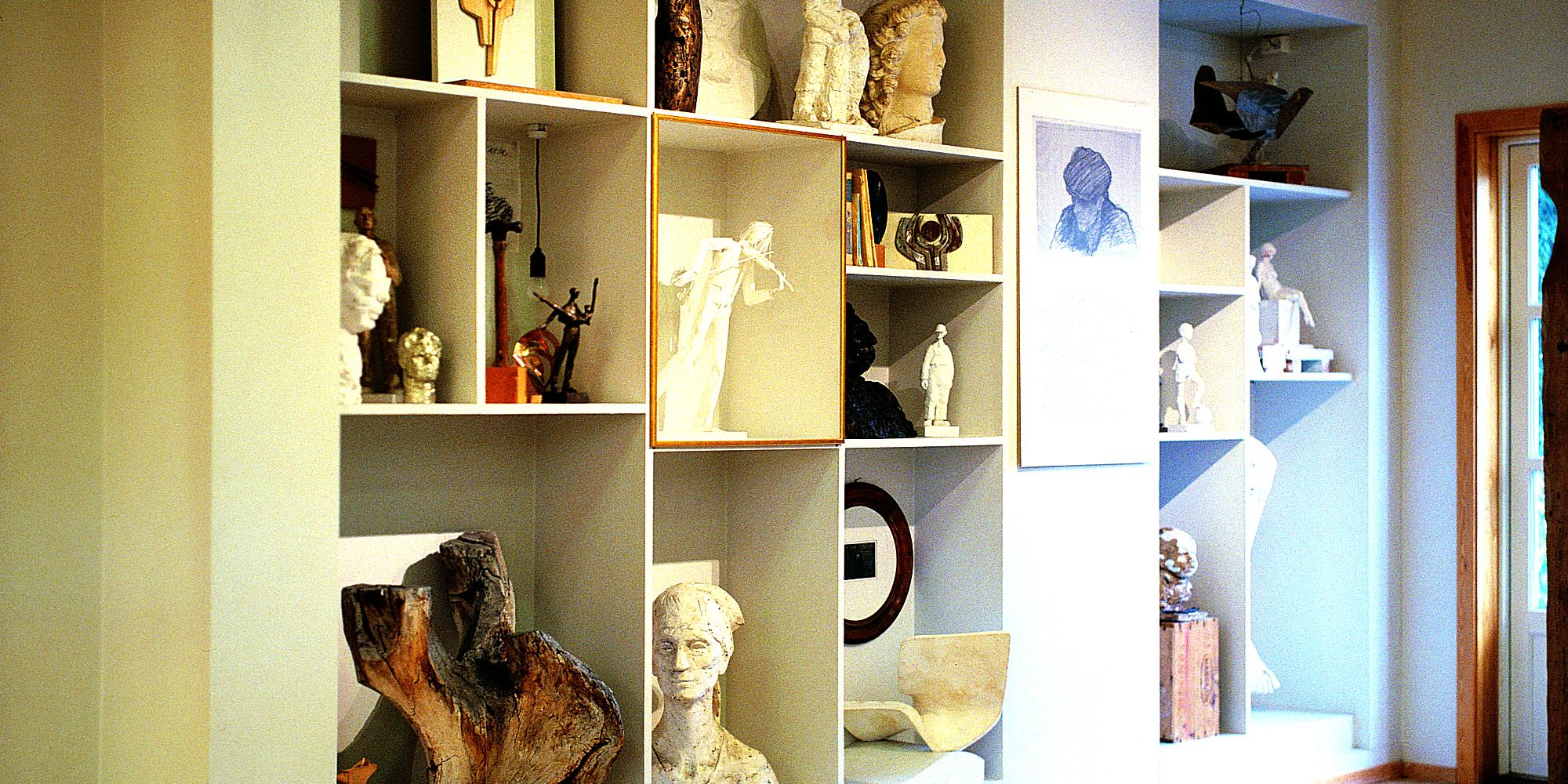 Nils Aas Kunstverksted - fast utstilling av Nils Aas. Copyright: Nils Aas Kunstverksted