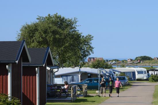 Hansagårds Camping ligger 4 km söder om Falkenbergs centrum.