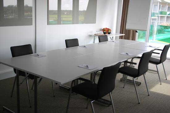 Konferenslokal på Ringenäs Golfklubb nära Tylösand i Halmstad.