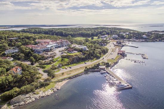 Säröhus Hotel, Spa & Konferens ligger vid havet, strax söder om Göteborg