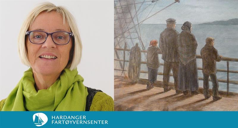 Forteljarførestilling om det første norske emigrantfølgje