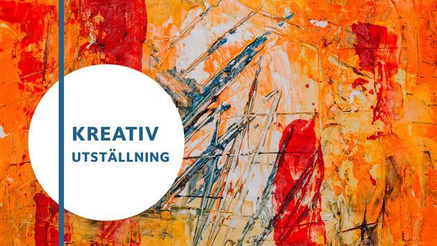 Affisch om kreativ utställning