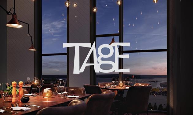 Restaurang Tage med utsikt