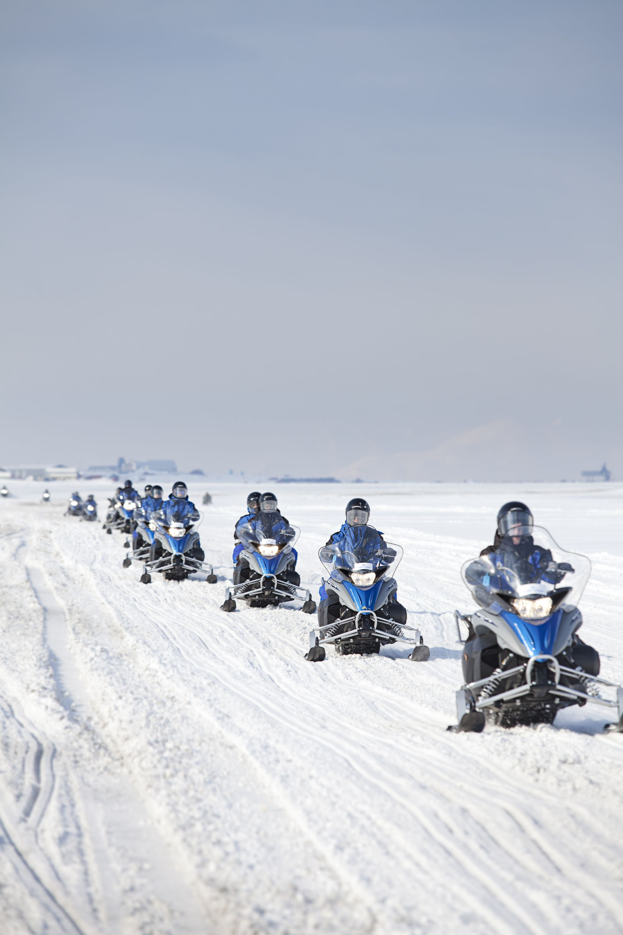Scooter Adventdalen