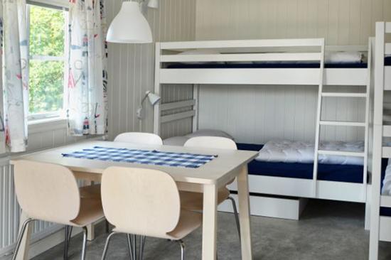 Sovrum på Gullbrannagården i Halmstad