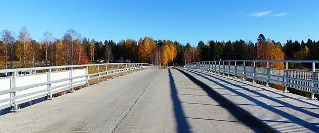 Den nya Fåröbron är färdig för officiell invigning. Foto: Hanna Wimander
