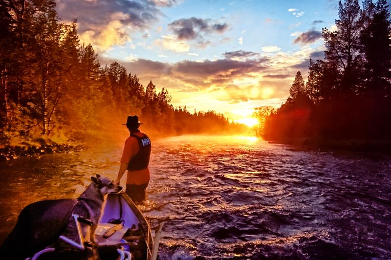 Dagstur med kano