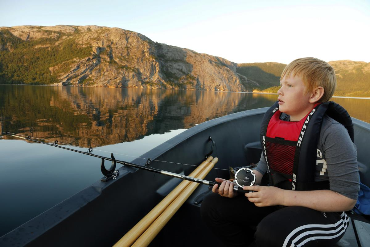 Boat and canoe rental - Flatanger Camping