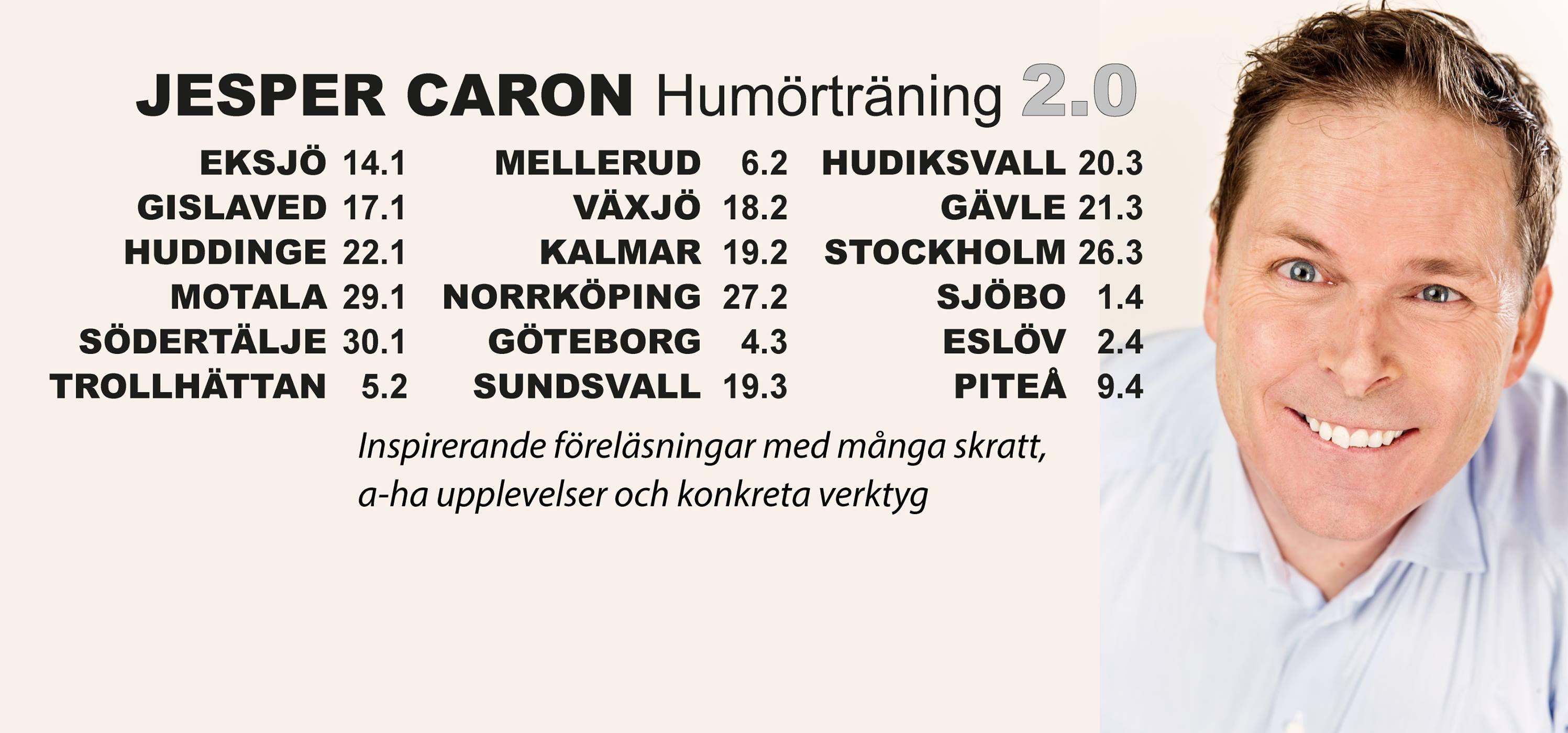 Framsteg Jesper Caron