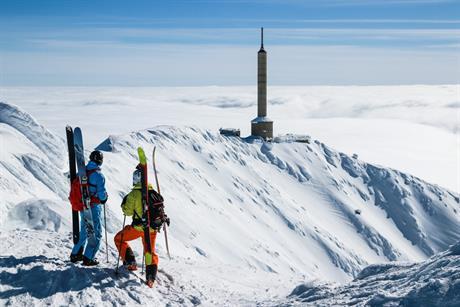 Off piste fra Gaustatoppen, © Torgeir Urdal