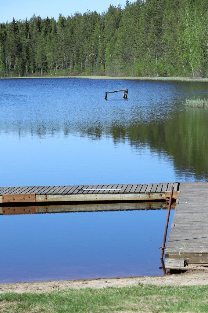 Gåssjön badplats i Hemmingsmark
