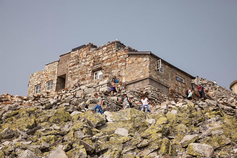 Sommer på Gaustatoppen Turisthytte, © Trond Stegarud