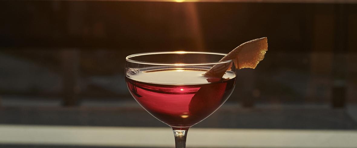 Gott att dricka till vacker utsikt hos Restaurang Tage
