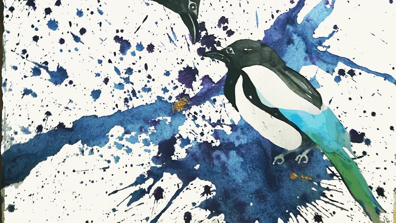 Lenita Ohlin - Akvareller
