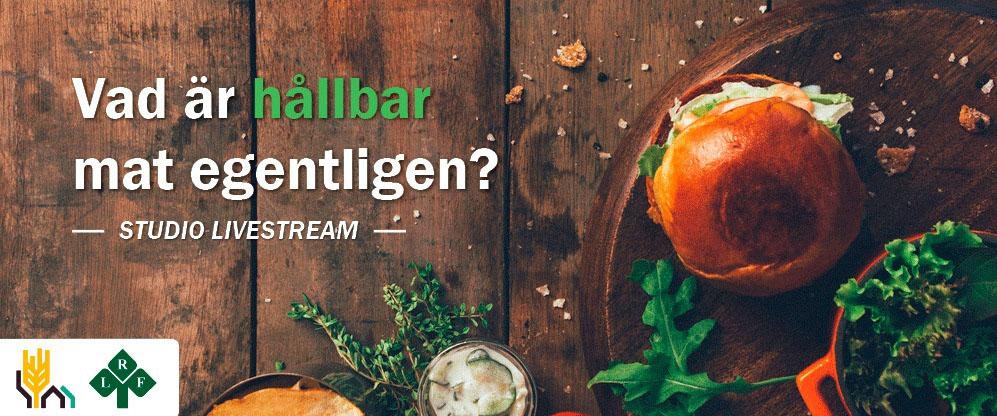 Affisch Hållbar mat