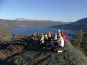 Topptur på Harås 676 moh