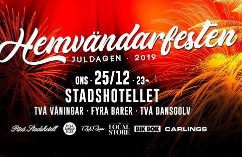 Affisch Hemvändarfesten 2019