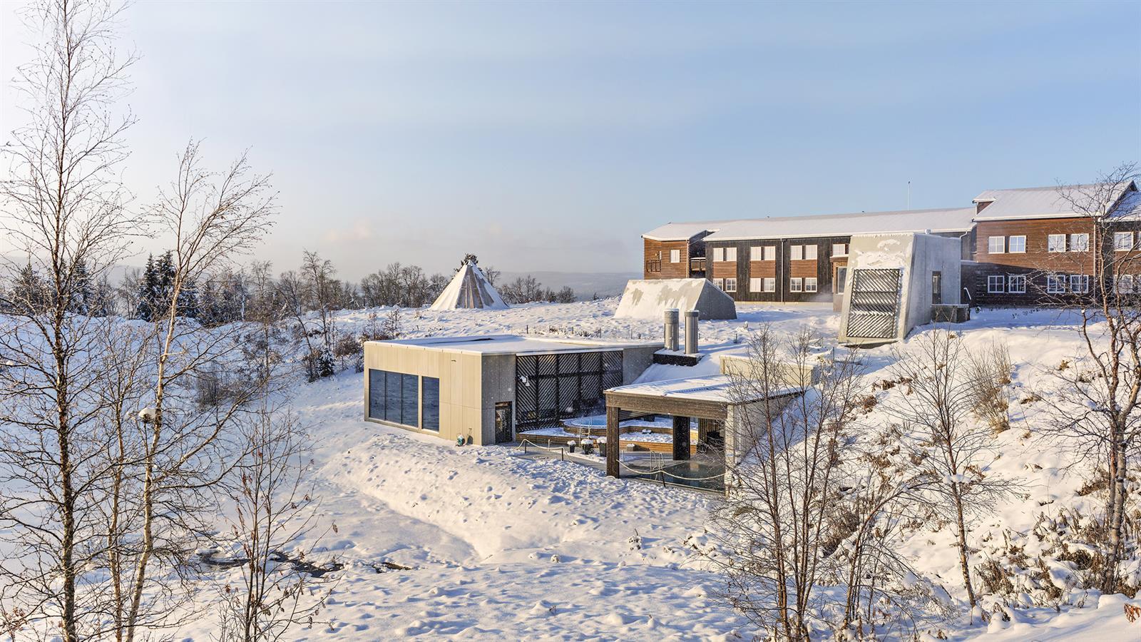 Vinteridyll på Røros Hotell